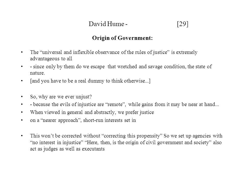 David Hume - [29] Origin of Government: